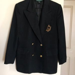 Ralph Lauren soluble breasted blazer fully lined